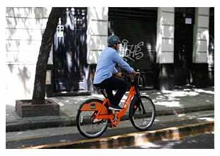 La Ciudad medirá la calidad del aire con sensores en bicicletas